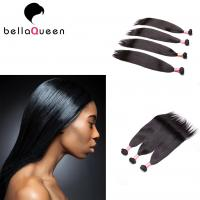 Indian Natural Color Bohemian Straight Human Hair Weave for Black Women