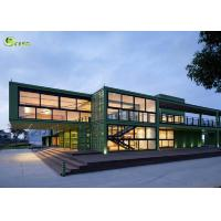 Buy cheap Expandable Prefab Modular Container Housing Steel Frame Building from wholesalers