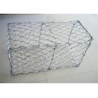 Wholesale 2m X 1m X 1m Pvc Coated Gabion Wire Mesh / Stone Cage Wire Mesh from china suppliers