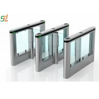 Wholesale Luxury High Speed Supermarket Swing Gate , Rfid Card Turnstile Security Systems from china suppliers