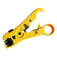 Wholesale Coax Cable Stripper RG6 RG59 RG7 RG11 Rotary 2 Blades from china suppliers