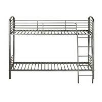 China Dorm Room Metal Furniture Bunk Beds With Strong Ladders For Young Kids on sale