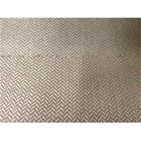 Wholesale polyester herringbone cationic suede fabric from china suppliers