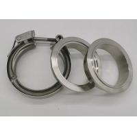 China T Bolt V Bend Quick Release Spot Welded Heavy Duty Pipe Clamps With Double Flange on sale