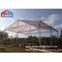 6082-T6 Aluminum Box Truss / Lighting Truss Hand Hoist 290mm X 290mm Size