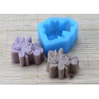 Wholesale Food Garde Multi Flower Silicone Mold , Pink Silicone Soap Making Molds from china suppliers