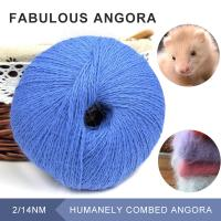Wholesale Excessively warm angora Hand knitting angora hairy yarn with Gorgeous color from china suppliers