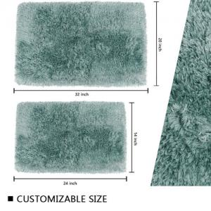 Wholesale Comfortable Polyester Machine Washable Non Slip Bath Mat Fast Drying Bath Mat from china suppliers