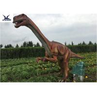 Wholesale Outside Zoo Park Decorative Realistic Dinosaur Statues Water And Smoke Spraying from china suppliers