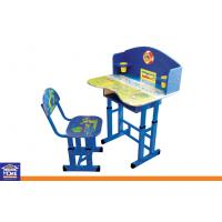 Modern Kids Writting Table And Chair Set Wooden Study