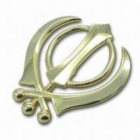 China Zinc Alloy Car Badge, Suitable for Reselling, Car Productions and Aftermarket Part Replacements on sale