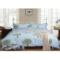 Wholesale Nature Tree Pattern Luxury Home Bed Linen / Bed Sheet Set 330TC 100% Cotton from china suppliers
