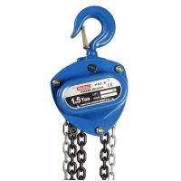 Wholesale Professional 1.5 Ton Manual Chain Block , Small Hand Chain Hoist from china suppliers