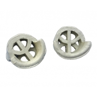 Wholesale MASS- TRANSFER-CERAMIC CONJUGATE RING Ceramic Conjugate Ring for distillation column&cooling tower from china suppliers