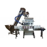 China Beverage Bottle Cap Sealing Machine / Powerful Automatic Bottle Capper on sale