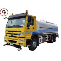 Wholesale China Heavy Duty Sprayer Water Truck 6x4 Drive Type with 20000 Liter Water Tank from china suppliers