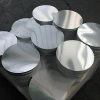 Wholesale Smooth Bright Surface Aluminum Disk Blanks / Round Aluminum Blanks ISO9001 from china suppliers