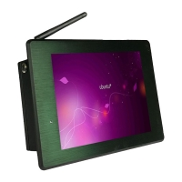 Wholesale Dual Rj45 8 inch 18W 350nits Rugged Touch Panel Pc DC 24V from china suppliers
