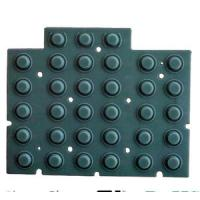 China Custom Made Conductive Silicone Rubber Keypad Plus Plastic Surface  Silicone Parts on sale