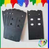 China Good Price ABS Inkjet PVC ID Card Tray For Canon Printer PIXMA/ IP4600/ IP4700 / IP4680 on sale