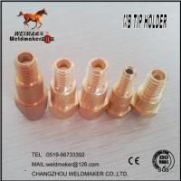Wholesale Binzel type contact tip holder for mig welding torch from china suppliers