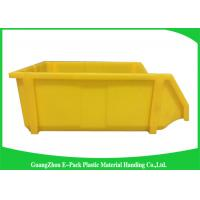 Wholesale Commercial Stackable Bins With Hinged Lids , Heavy Duty Warehouse Storage Containers from china suppliers
