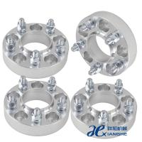 Wholesale 6061-T6 Aluminum 6x5.5 Custom Wheel Adapters 14x1.5 Studs ,Thickness 10mm / 12mm from china suppliers