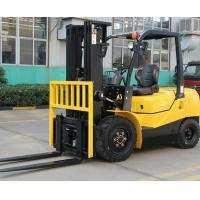 Wholesale ISUZU Engine Diesel Forklift Truck Energy Saving Yellow Color Turning Radius 2240mm from china suppliers