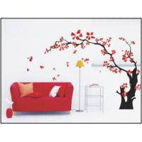 Wholesale Maple Tree Modern Nature Wall Decals With Multi Color , Scrape Resistance from china suppliers