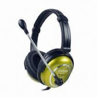 Buy cheap Fold-way Fashionable Headphones with 20Hz to 20kHz Frequency Response and 40mW from wholesalers
