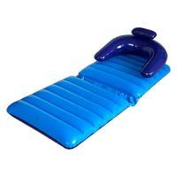 Blue fortable Inflatable Lounge Chair of ec