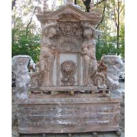 Wholesale Garden stone wall fountain carving statue water fountain ,stone carving supplier from china suppliers