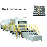 China Large Capacity Double Rotary Egg Tray Machine Full Automatic Factory Price on sale