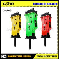 Wholesale High Quality Top Type Hydraulic Hammer Rock Hydraulic Breaker for Excavator Attachment from china suppliers