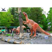 Wholesale Amusement Park Decoration Realistic Dinosaur Statues Artificial Mother And Baby Models from china suppliers
