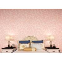Light pink floral modern removable wallpaper for Bedroom wallpaper for sale