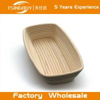 Wholesale Professional handmade 100% natural canne rectangle banneton dough rising basket banneton, brotform from china suppliers