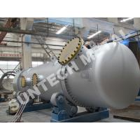 Quality 316L Double Tube Sheet Heat Exchanger for Chemical Processing Plant for sale