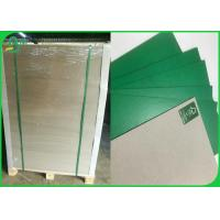 Buy cheap Blue & Green Coated Duplex Board / Colored Book Binding Board 0.8mm 1mm In Sheet from wholesalers