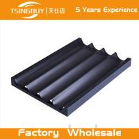 Wholesale Factory high quality bread baking aluminum sheet-deep baking tray-non-stick french baguettes baking tray from china suppliers