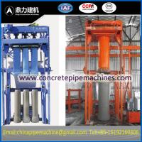 Wholesale concrete pipe machine from china suppliers