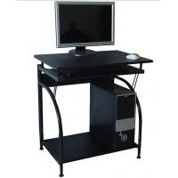 Quality Stylish Computer Desk office Furniture Contemporary Black Wood