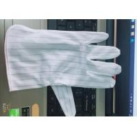 Wholesale Double Faced ESD Anti Static Gloves Fiber Conductive Featuring Free Samples from china suppliers