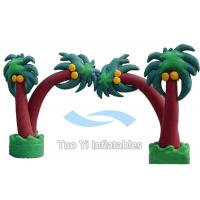 Wholesale Tree Design Inflatable Entrance Arch Advertising With PVC Tarpaulin Material from china suppliers