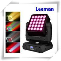 Wholesale High Efficiency DMX LED Stage Lighting , 25 X 12W Dj Club Lights For Concert / TV Studio from china suppliers