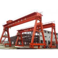 Wholesale Work Yard A Frame Double Beam Gantry Crane , Optional Color Rubber Tired Gantry Crane from china suppliers