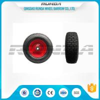 Wholesale Pneumatic Heavy Duty Rubber Wheels 16 , Replacement Trolley Wheels Anti Skidding from china suppliers
