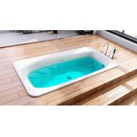 Wholesale Smooth Artificial Stone Bathtub High Hardness Stand Alone Soaking Tub from china suppliers