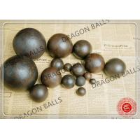 China Air Hammer Forged Grinding Balls , 50mm Forging Steel Balls For Ball Mill on sale