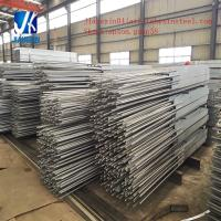 Buy cheap welded rebar under h beam fabricated steel post for retaining wall project from wholesalers